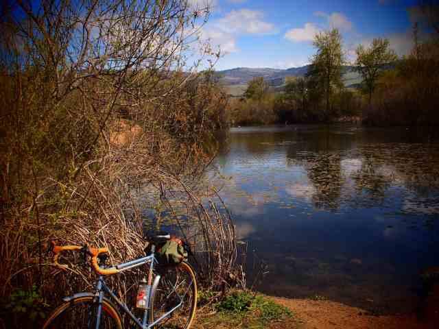 Bike Path, 17mm Zuiko lens, Pop Art filter