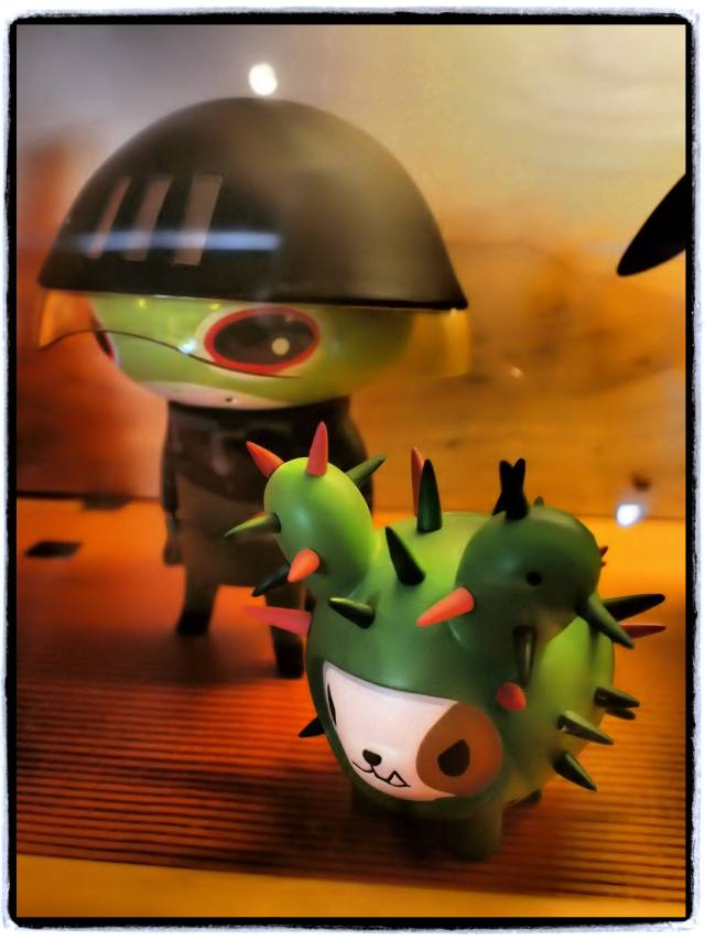 """Alien & Cactus Hound"", 17mm Zuiko lens"
