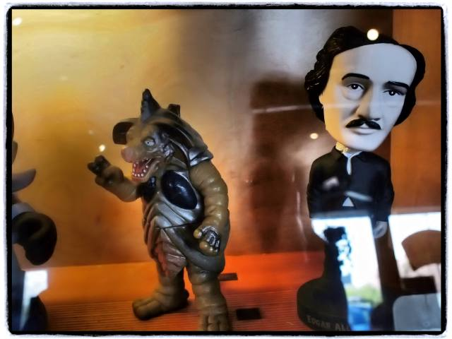 """Poe & Monster"", 17mm Zuiko lens"