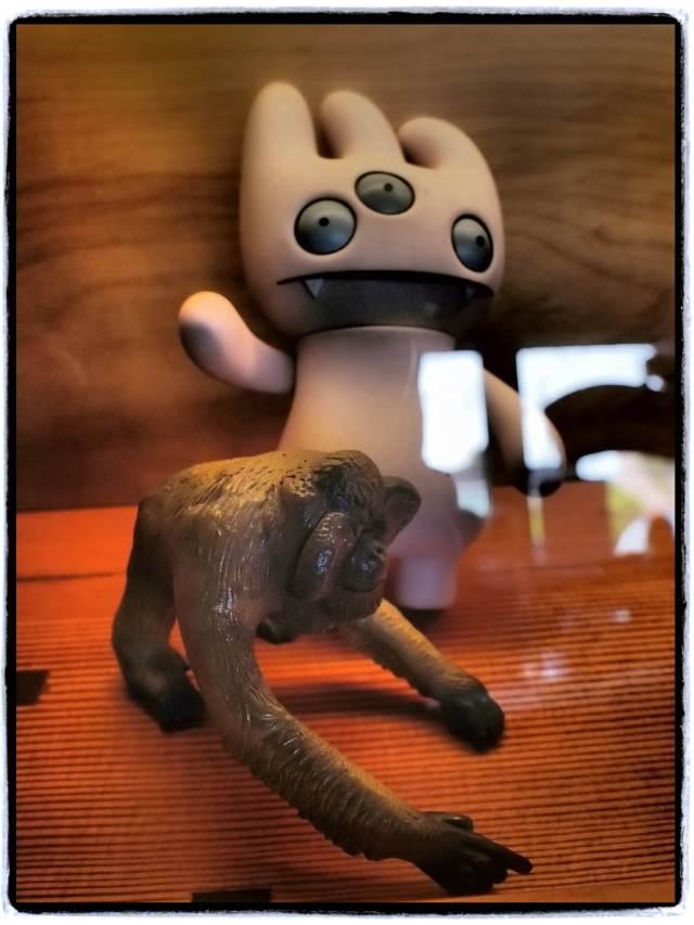 """Ape & Hand"", 17mm Zuiko lens"