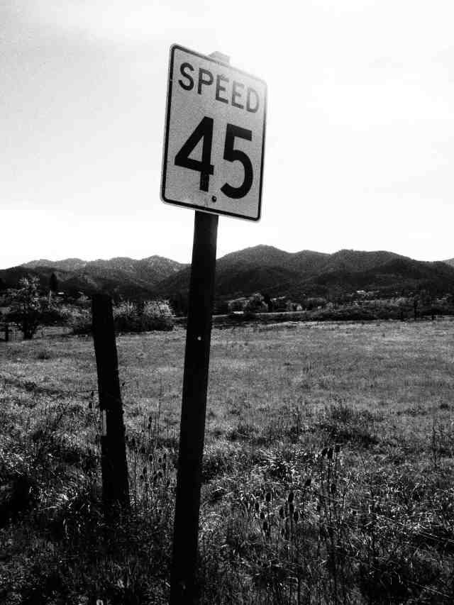 """Speed 45"", 17mm Zuiko lens, 'Grainy Film' filter"