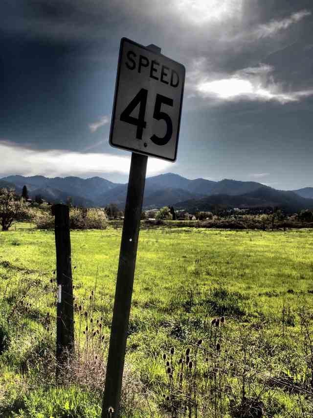 """Speed 45"", 17mm Zuiko lens, 'Dramatic Tone' filter"