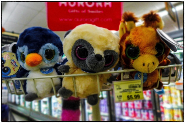 Supermarket stuffed Friends