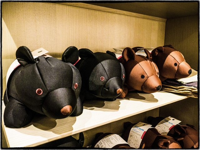 Bear Travel Pillows